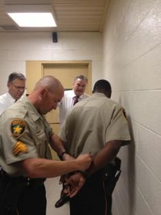 "Bossier Sheriff ""arrested"" for MDA fundraiser | Bossier Press-Tribune"
